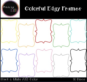 Colorful Frames / Edgy Frames