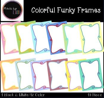 Colorful Frames / Funky Frames