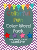 Colorful Fun-Color Word Pack