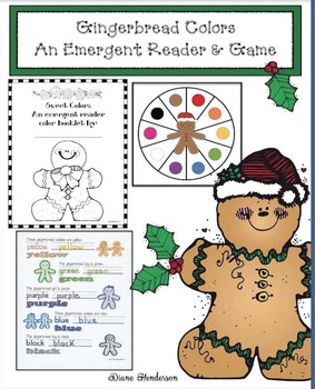 Colorful Gingerbread: An Emergent Reader and Game