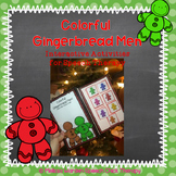 Colorful Gingerbread Men: Interactive Activities for Speec