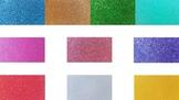 Colorful Glitter PowerPoint Background Templates
