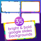 35 Bright Google Slides Background Templates for Unique +
