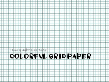 Colorful Grid Paper