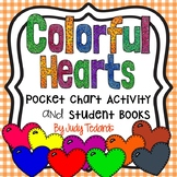 Colorful Hearts  (A Pocket Chart Activity and Emergent Rea