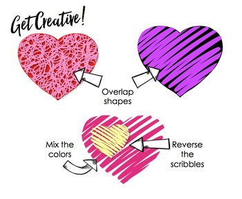 Colorful Hearts Clip Art Selection (Bundled) {Educlips Clipart}