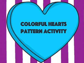Colorful Hearts Pattern Activity