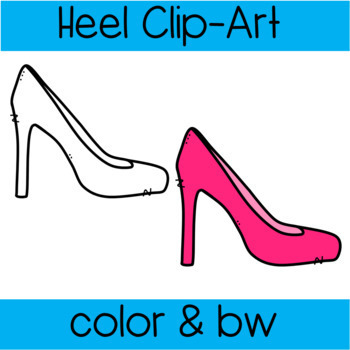 Colorful High Heel Clipart