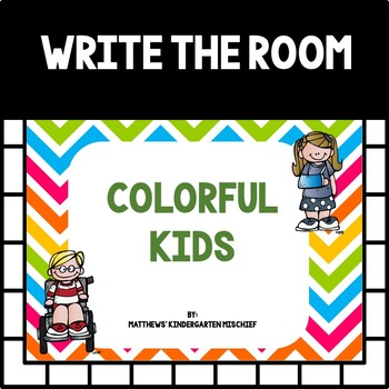 Colorful Kids Color Activities
