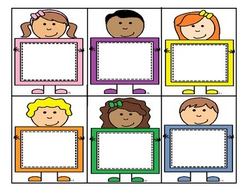 Colorful Kids Flashcards