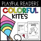 Colorful Kites Emergent Reader