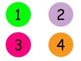 Colorful Labeled Dots/ Circles