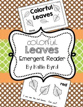 Emergent Reader - Colorful Leaves