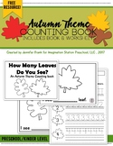 Autumn Theme Counting Book