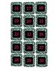 Colorful Leopard Calendar Numbers
