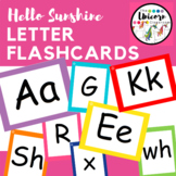 Colorful Letter Flash Cards