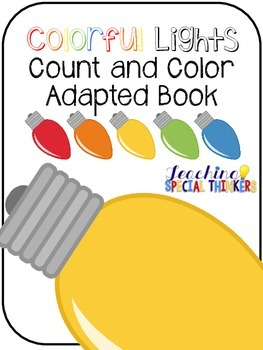 Colorful Lights Count and Color Adapted Book