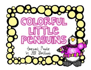 Colorful Little Penguins emergent reader