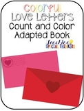 Colorful Love Letters Count and Color Adapted Books