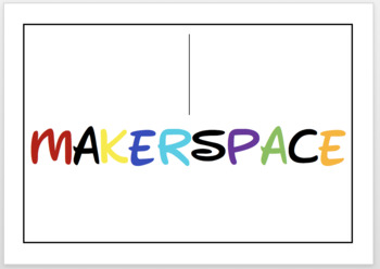 Colorful Makerspace Poster