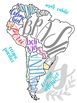 *BUNDLE El Mundo Hispanohablante: Colorful Map Set of Spanish-speaking Countries