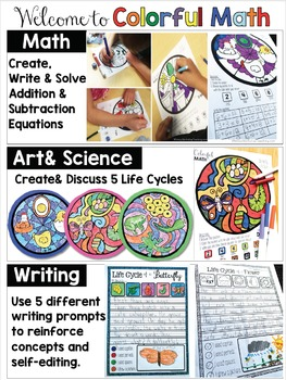 Colorful Math - 5 Life Cycles