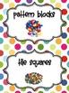Colorful Math Tub Labels