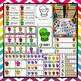 Colorful Mittens Literacy & Math Small Group & Center Activities ~ ABC, Counting