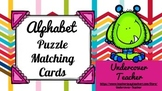Colorful Monster Puzzle Alphabet A to Z Matching Card Game