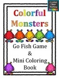 Colorful Monsters: Go Fish Game and Coloring Booklet