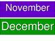 FREEBIE Colorful Months for Calendar Pocket Charts