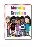Colorful Morning Greeting Posters - How would you like to be greeted today?