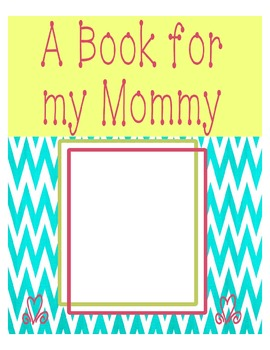 Colorful Mother's Day Book