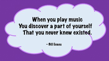 Colorful Music Quotes