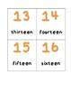 Number Cards (1-50)