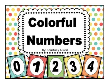 Colorful Number Charts