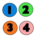 Colorful Number Dots 1-15