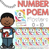 Number Poem Posters {0 - 10}