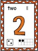 Colorful Number Posters 1-10