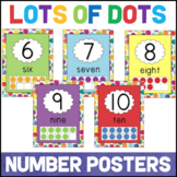 Number Posters with Ten Frames 0 to 20