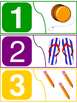 Colorful Number Puzzle 1-10 (2 pieces each)