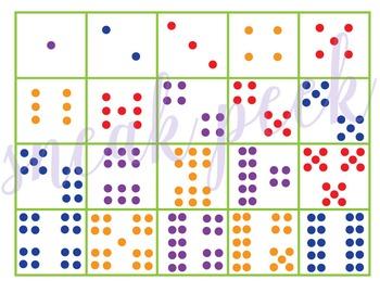 Colorful Numbers Math Game (K.CC.A.3, K.CC.B.4, K.CC.B.5)