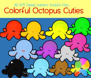 Colorful Octopus Cuties