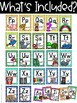 Colorful Owl Alphabet Posters - Owl Classroom Decor