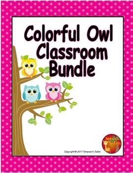 Colorful Owl Bundle