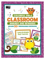 Colorful Owls Classroom Awards and Rewards