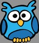 Colorful Owls Clip Art - Whimsy Workshop Teaching