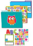 Colorful Owls Organization Set SALE 20% OFF 144927