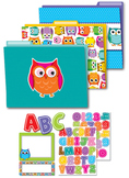 Colorful Owls Organization Set SALE 20% OFF 144927
