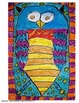 Colorful Owls - Step by Step